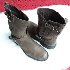 Vince Camuto | Brown Roadell Motorcycle Boot